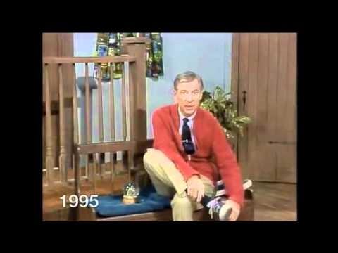 Mister Rogers through the years  | Favorite TV Shows Stuff | Tv