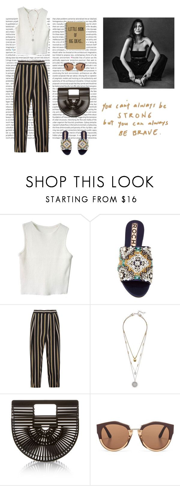 """Staying classy during summer"" by dorey on Polyvore featuring Rochas, Chloé, Lucky Brand, Cult Gaia and Marni"