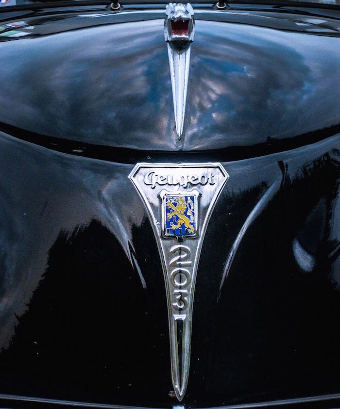 Lion Logo mascotte Peugeot 203