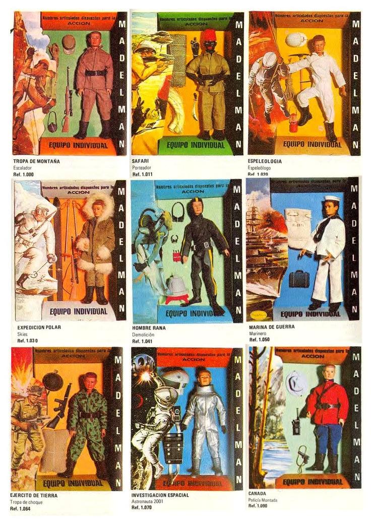Los años 70: Madelman. La infancia, mi única patria.