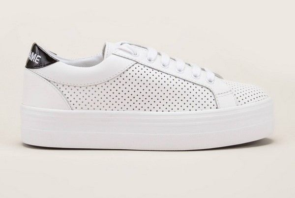 No Name Plato Bridge Sneakers perforées blanches pas cher prix Baskets Femme  Monshowroom 119.00 € TTC