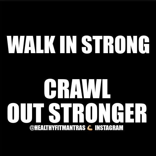 Crawl out stronger #crossfit #whatdoesnotkillyoumakesyoustronger