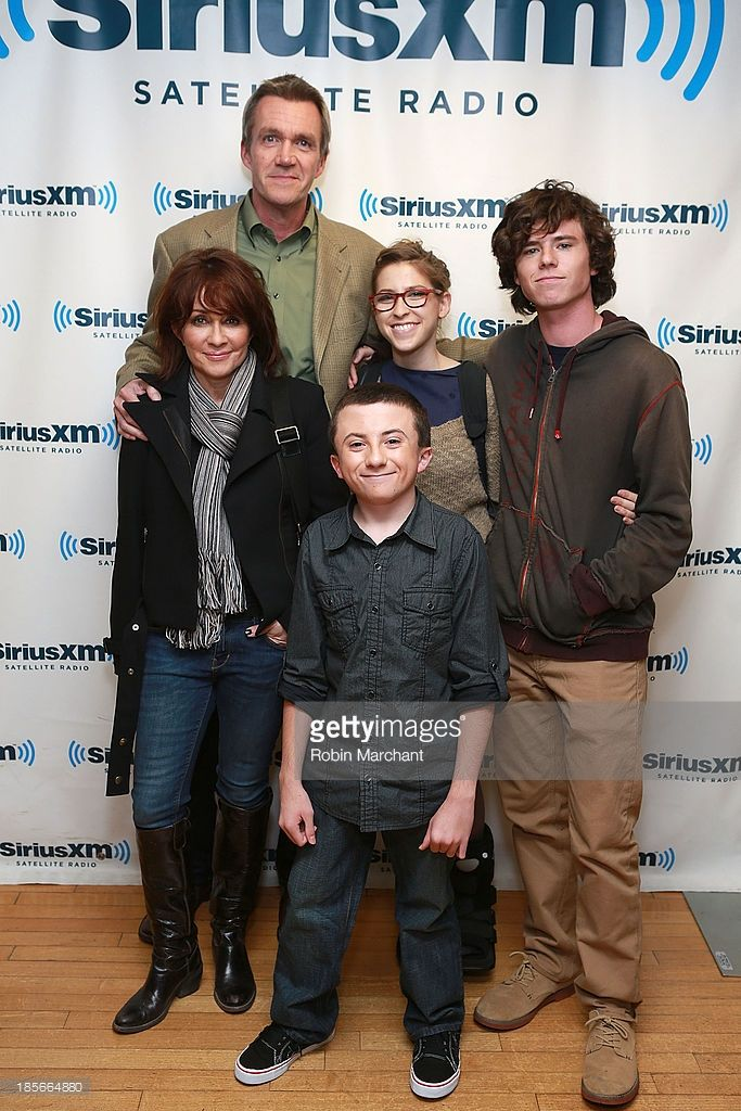 NEW YORK, NY - OCTOBER 23:  Patricia Heaton, Neil Flynn, Atticus Shaffer, Eden Sher and Charlie McDermott visit at SiriusXM Studios on October 23, 2013 in New York City. Description from gettyimages.com. I searched for this on bing.com/images