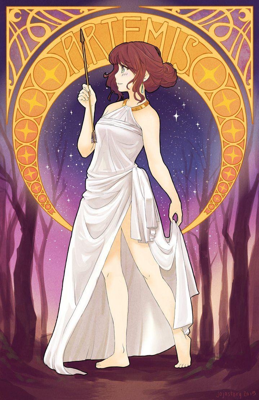 Artemis By Jojostory Tatouages De La Mythologie Divinite Grecque Mythologie Grecque Dieux