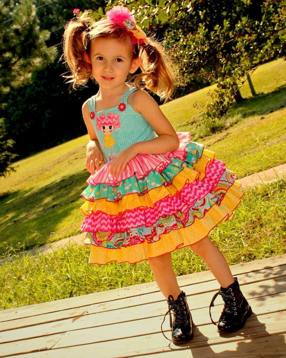 Hey, I found this really awesome Etsy listing at https://www.etsy.com/listing/164509429/girls-lalaloopsy-party-ruffle-special