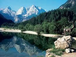 risnjak gebergte zicht op Julische Alpen