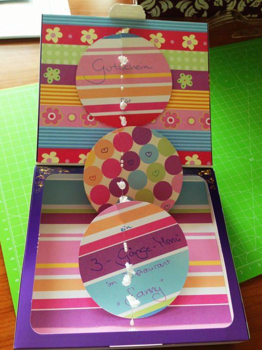 DIY Gift Card Box – Gutscheinbox