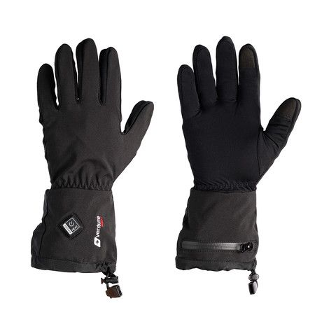 Battery Heated Glove Liners // Black