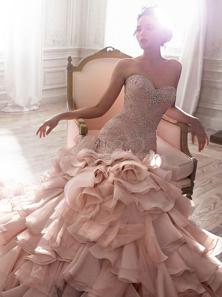 opal organza wedding dresses | Maggie Sottero Spring 2015 - Style 5MT118 - Serencia