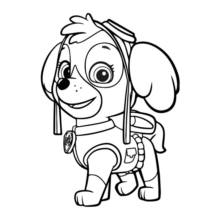 50 best tekeningen images on Pinterest Coloring books, Coloring - copy paw patrol coloring pages