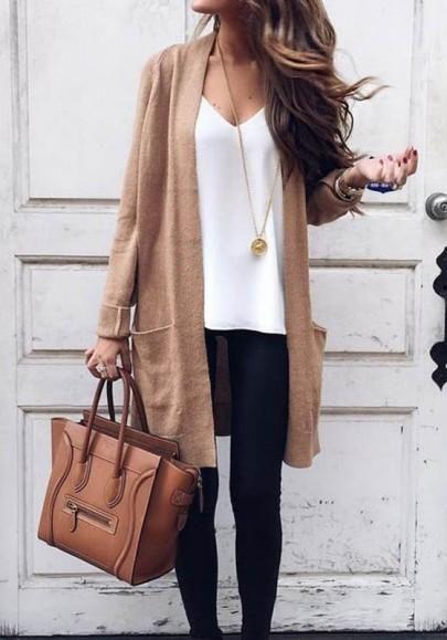 New Women Khaki Pockets Long Sleeve Fashion Dacron Coat
