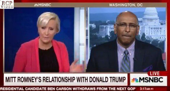 """Michael Steele Dumbfounded on Romney's Anti-Trump Speech: """"I Don't Know Who They Think This is Going to Influence"""" (VIDEO)  Jim Hoft Mar 3rd, 2016"""