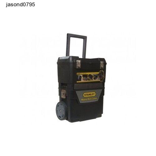 Tool Box Chest Trolley Wheels Storage Stanley Mobile Work Center Garage Hammer