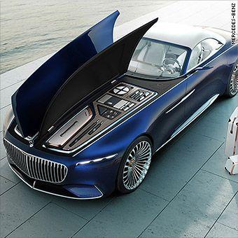 Mercedes presents a stunning, super-long luxury convertible – Auto Design Ideen