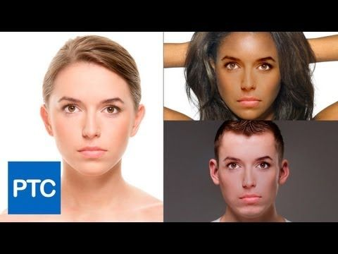 Great technique to swap faces In Photoshop! Match skin tones with one click! #Photoshop #Tutorial #photography