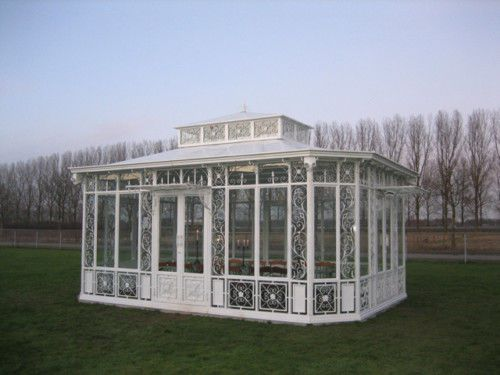 Gazebo-Pavillon-Gartenhaus-Gewachshaus-Orangerie