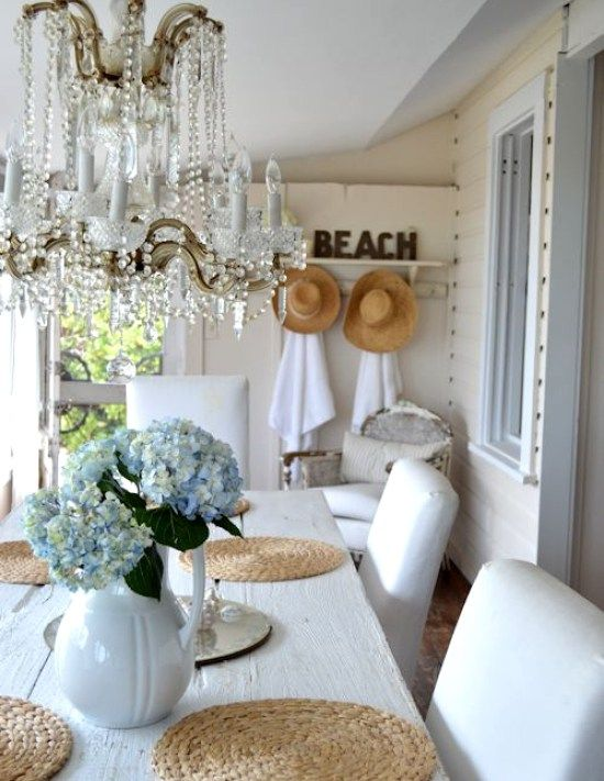 3489 Best Seaside Home Images On Pinterest  At Home Beach And Glamorous Living Room Beach Decorating Ideas Design Ideas