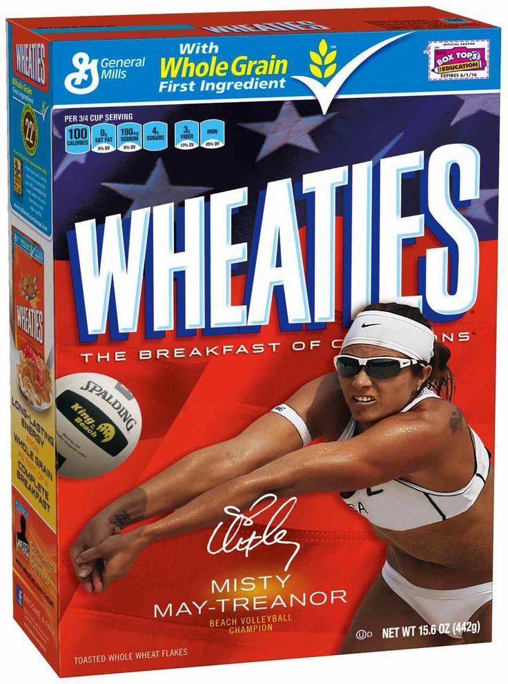 Misty May-Treanor #wheaties