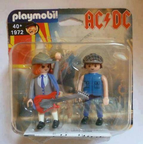 #Playmobil #ACDC   Toys   Pinterest   Playmobil