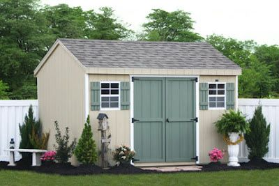 10x12 Sheds : Garden Shed Plans By Lr Designs