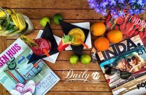 Geniet van onze smoothies  Eindelijk: het is zomer! Deze zomer kun je extra genieten van onze verfrissende en koele fruit-smoothies.  Keuze uit Mad Berries, Tropical Tango, Mango Dream en Extra Energie.Ook om mee te nemen!