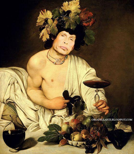 "Steven Tyler in ""Baccosmith"" - Caravaggio"