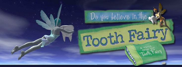tooth fairy belief Being the youngest child of seven, i'm not sure i really had a chance to believe in the tooth fairy by the time i started losing my teeth, i think my parents had gone through this process so many times before that they simply gave me money for my lost tooth and then put my tooth in an old 35 mm film canister.