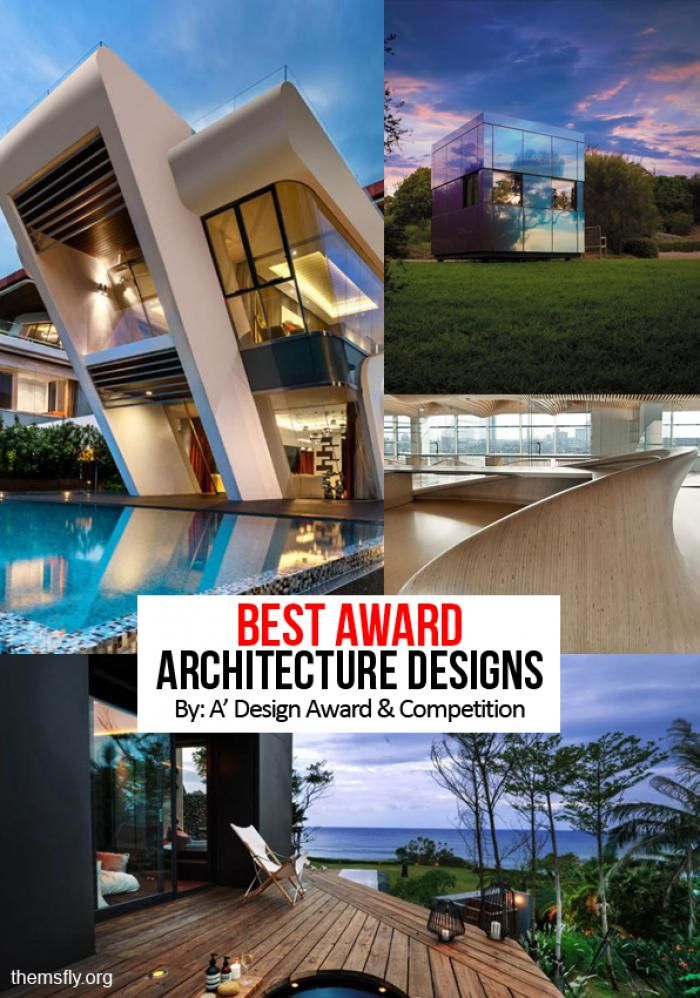 Best Award Winning Architecture Designs From The A' Design Award & Competition