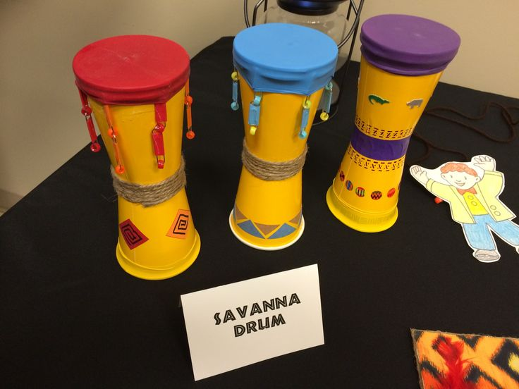 Camp Kilimanjaro VBS :: Make your own savanna drums out of plastic cups! #VBS2015 #CampKilimanjaro