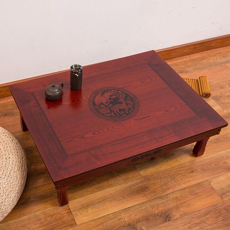 80x60cm rectangle korean table legs foldable living room