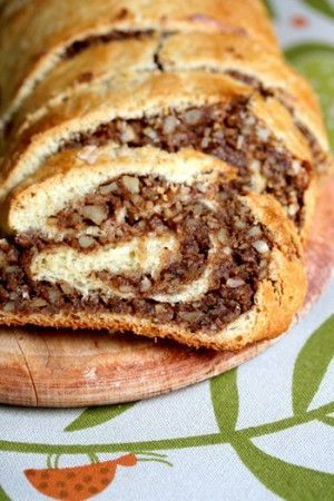 Hungarian nut roll is one of my family's most treasured recipes - but this version has less fat since it's made with skim milk and low-fat margarine. Fresh yeast is usually found in the dairy section, but you can substitute with 2 (.04 ounce) packets of dry yeast