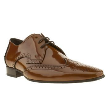Jeffery West Tan Escobar Wing Gibson Mens Shoes The Jeffery West Black Line range always offers the very best in mens formalwear and the West Wing Gibson is no exception. This suave lace-up shoe is created with a glossy, tan leather upper featuring http://www.MightGet.com/january-2017-13/jeffery-west-tan-escobar-wing-gibson-mens-shoes.asp