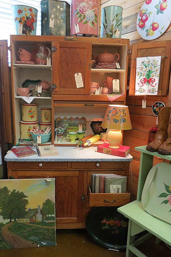Pinterest Vintage Enamal Top Kitchen Cabinet