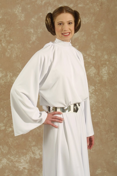 This Is A How To For Leia- Star Wars Princess Leia Costume -7095