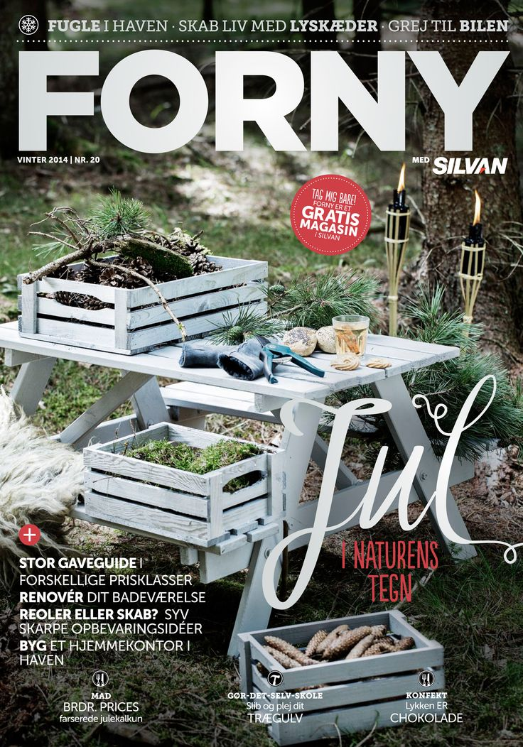 FORNY med Silvan, magasin nummer 20, vinter 2014