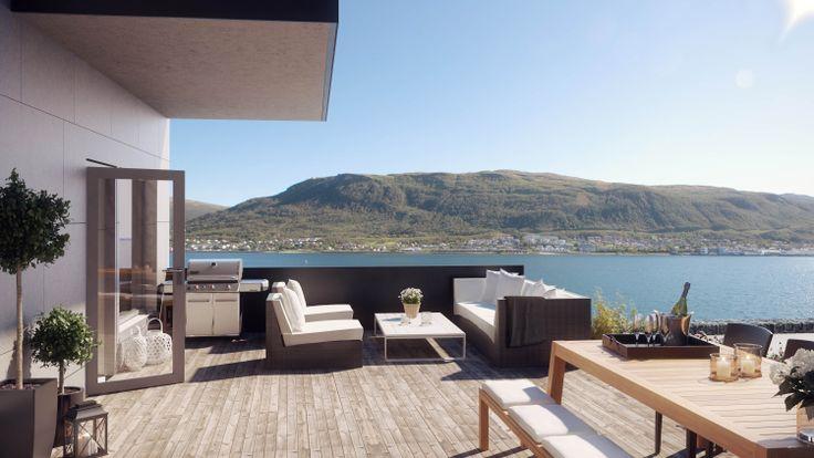 Exterior | Strandkanten Tromsø | Selvaag Bolig AS
