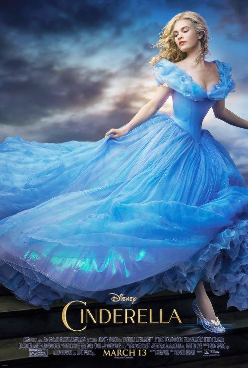 """Vicki's Popcorn Entertainment: Cinderella (Movie 2015) - """"Have Courage and Be Kind"""""""