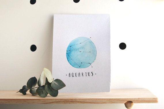 A Q U A R I U S by FeidDesigns on Etsy