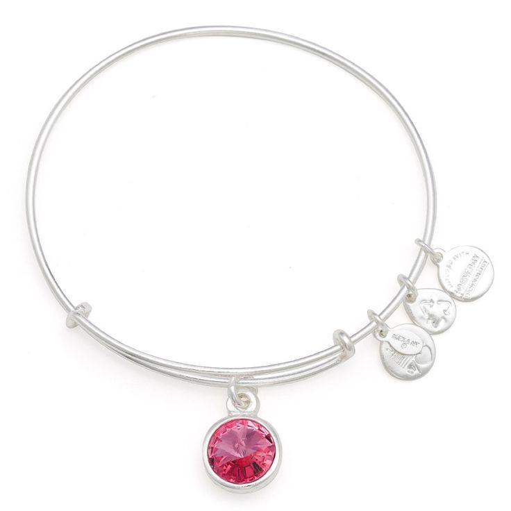 Alex and Ani - October Birthstone - known as the love stone, motivates kindness, forgiveness and compassion