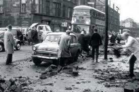 Glasgow hurricane aftermath ~ January 1968