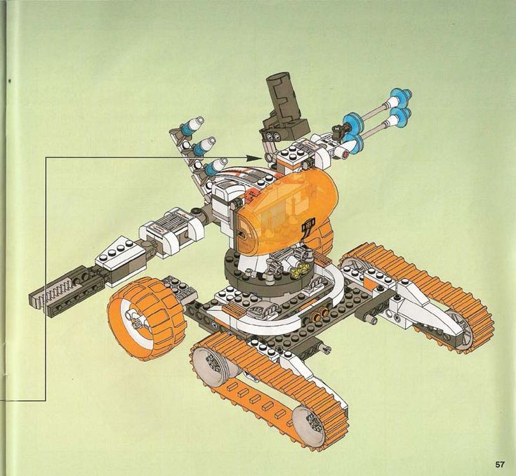 These are the instructions for building the LEGO Mars Mission MT-51 Claw-Tank Ambush that was released in 2007. Description from brickinstructions.com. I searched for this on bing.com/images