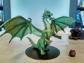 Green Dragon (Updated) in White Strong & Flexible