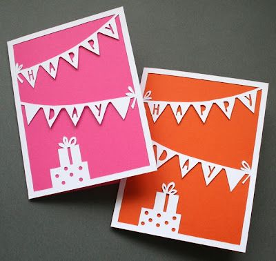 birthday cards...: Happy Birthday, Cards Ideas, Cards Birthday, Cute Ideas, Cut Paper, Papercutting Ideas, Diy Birthday Cards, Paper Cards, Paper Crafts