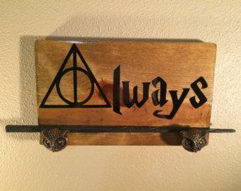 Harry Potter Always Wand Display