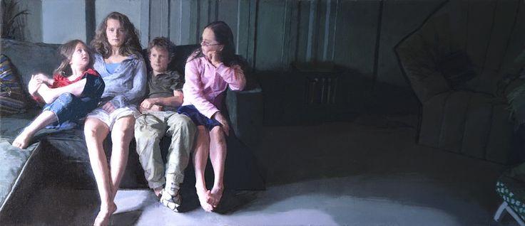 Brendan Kelly 'The Rudd Jones Children' family portrait