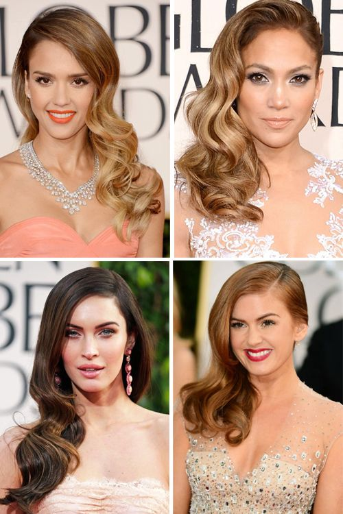 Darling hairstyle ~ Making Waves at The Golden Globes +++Visit http://www.makeupbymisscee.com/ For tips and how to's on #hair #beauty and #makeup