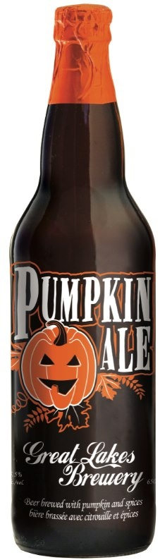 Now this I have to try - PUMPKIN ALE? Thanks Great Lakes Brewery!