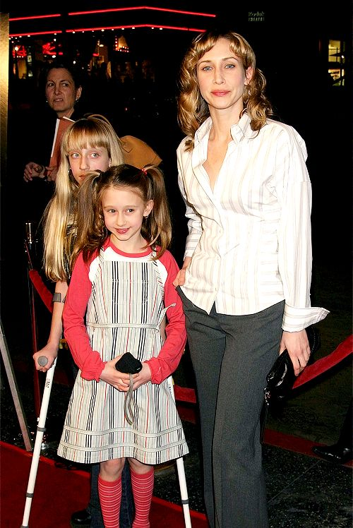 "Sisters: Vera and Taissa Farmiga attend the ""Iron Jawed Angels"" Premiere 2004"