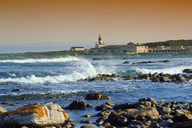 Cape Agulhas is the southernmost point of Africa - a beautiful coast line where the lovely hinterland often gets overlooked by people who travel straight from Cape Town to the Garden Route.   But take the time to explore and you may come across some lovely Cape Dutch houses or the forgotten Shipwreck Museum in Bredasdorp