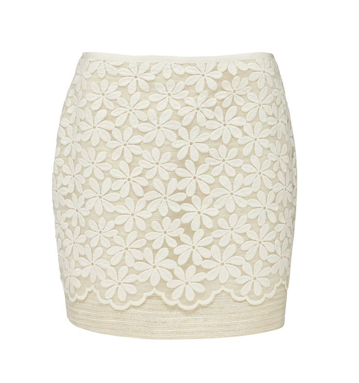 Embroidered skirt @ forevernew